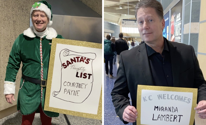 This Dad Makes Hilarious Signs And Costumes Each Time He Goes To Pick His Daughter Up From The Airport