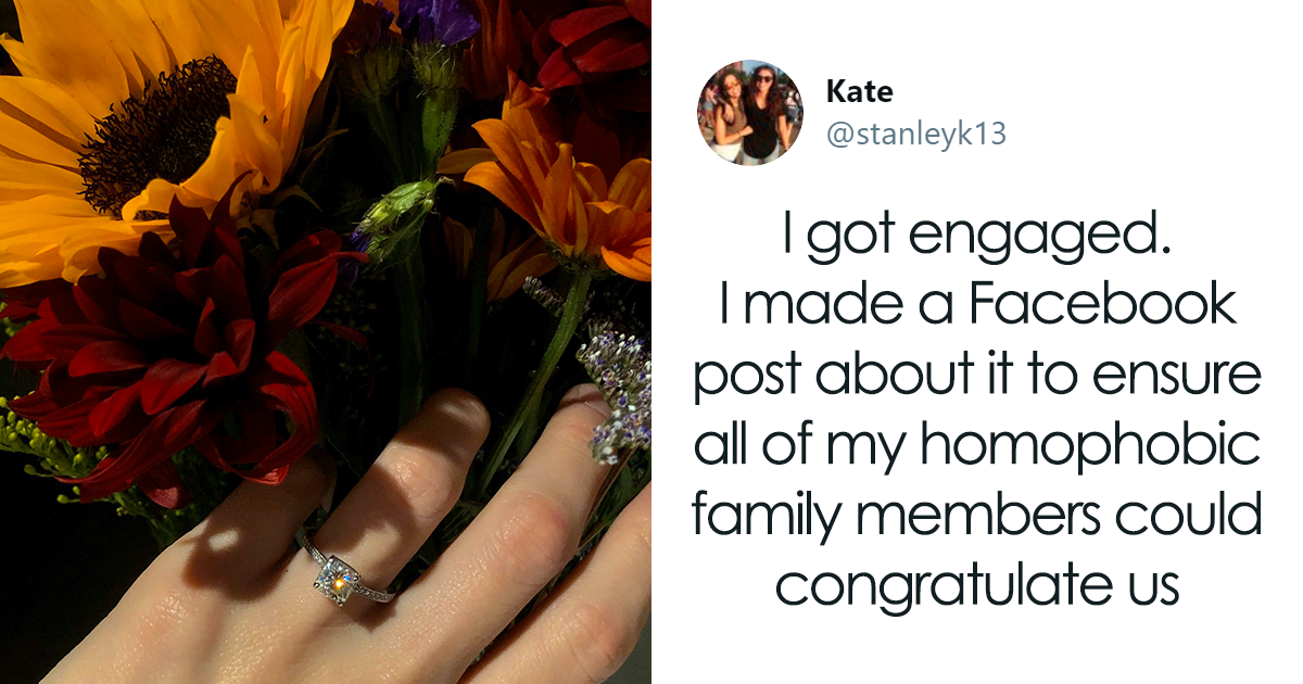 Queer Woman Ignores Her Homophobic Family By Publishing A Heartwarming Love Letter To Her Fiancee Who Just Pro