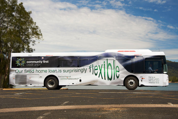 Community First Credit Union: Flexible Bus