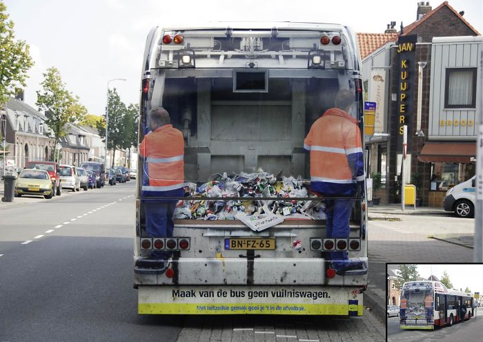Keep Holland Clean Foundation: Garbage Bus