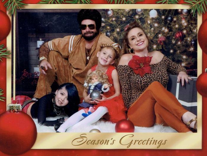 White Trash Christmas Card