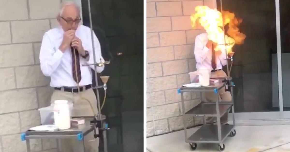 Student Shares A Compilation Of Various Crazy Things Her 70+ Y.O. Physics Professor Did, And It's Awesome