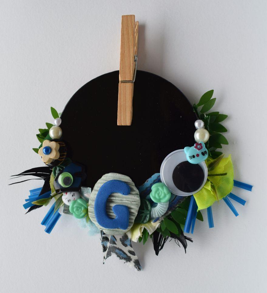 G Initial Centerpiece