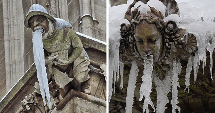 People Are Sharing Photos Of 'Vomiting' Statues And Here Are The 12 Most Hilarious Ones