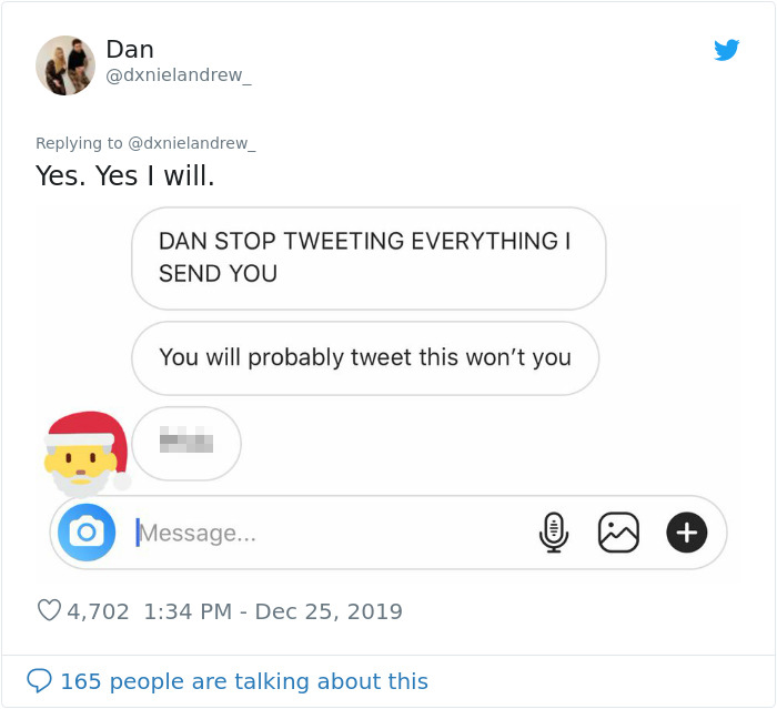 This Man's Horrific Christmas Twitter Tale of Running Into His Ex With A Wife & Children Goes Viral