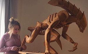 Esta mujer va más allá y crea increíbles esculturas usando pan de jengibre