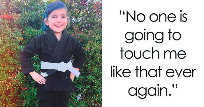 """Baby's First Choke-Out:"" Little Girl Goes Viral For Her Self-Defense Moves Against School Bully"
