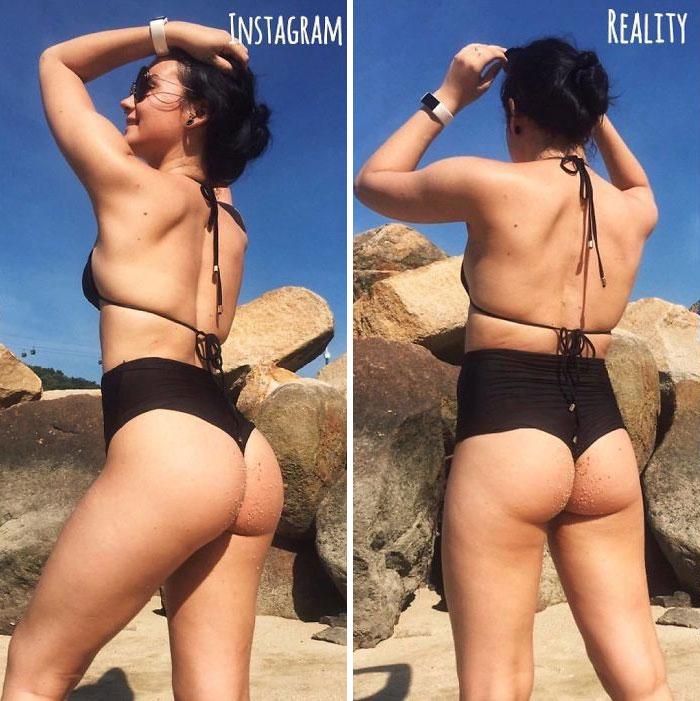 Health-Blogger-Instagram-vs.-Real-Life-Saggysara