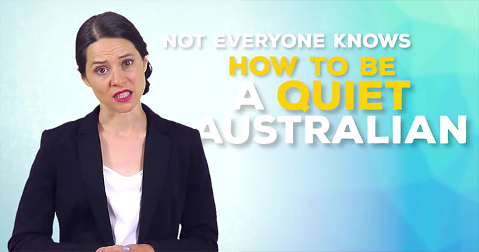 "The Juice Media Came Out With The ""Quiet Australia Policy"" Honest Government Ad & It's Surprisingly Honest & Informative"