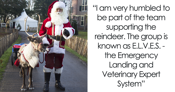 Kids Ask A Question About Santa's Reindeer, Vets From All Around The World Respond
