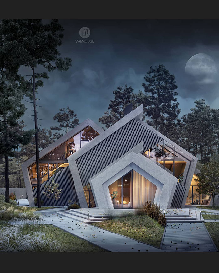 These Houses Are Designed In The Shape Of Famous Logos