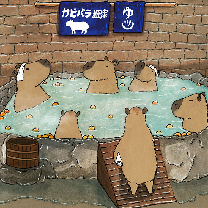Here Are My 17 Illustrations Of Animals In Japanese Scenarios
