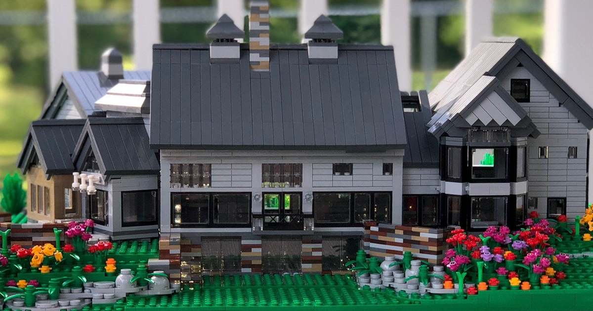 Turns Out, You Can Buy A Miniature Replica Of Your Home Made From LEGO
