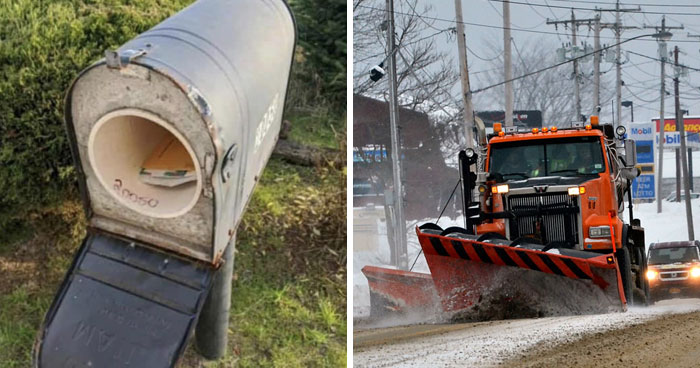 Guy Gets His Mailbox Ruined By A Snow Plow Every Snowfall, Gets Perfect Revenge