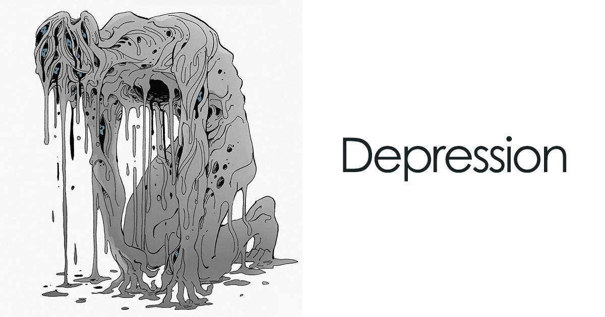 Artist Illustrates 9 Mental Illnesses And Disorders As Monsters, Shows Their True Colors