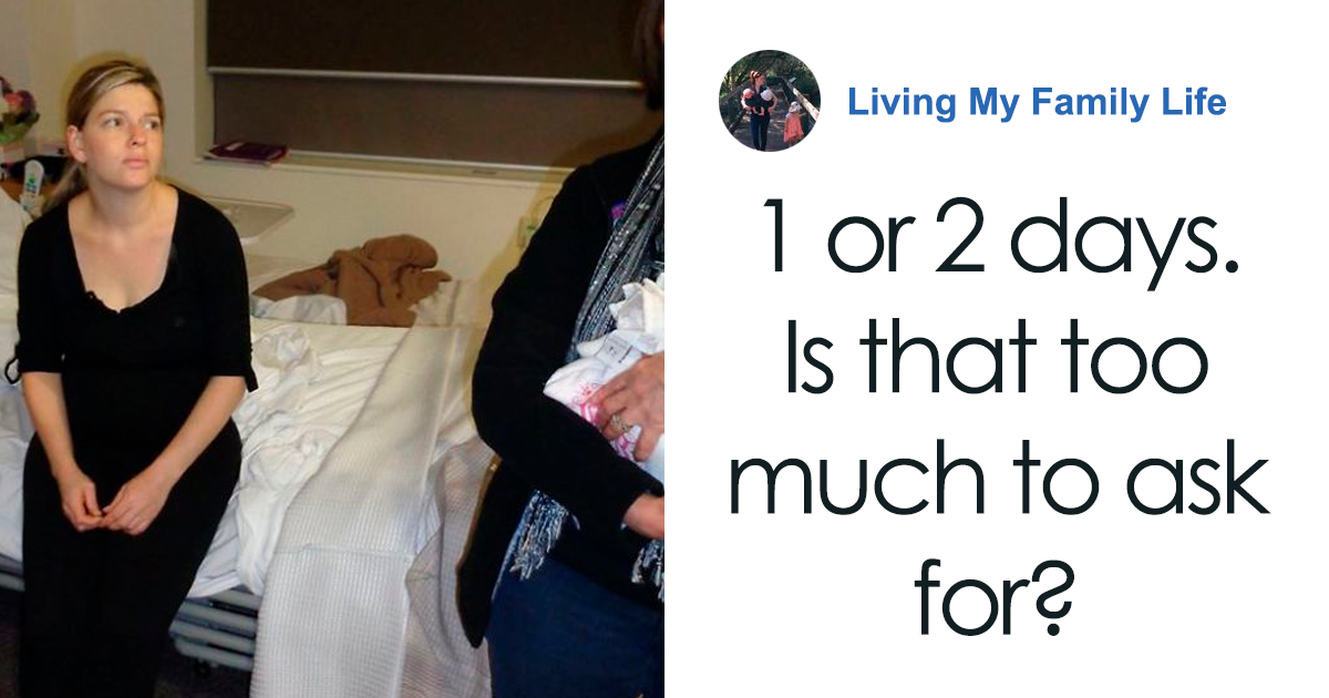 """""""1 Or 2 Days. Is That Too Much To Ask For?"""": Mom's Touching Post Explains Why They Need Rest After Giving Birt"""