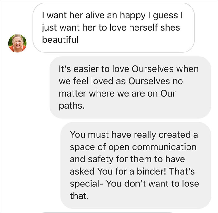 Non-Binary Person Teaches This Hateful Parent Tolerance And Their Text Exchange Goes Viral