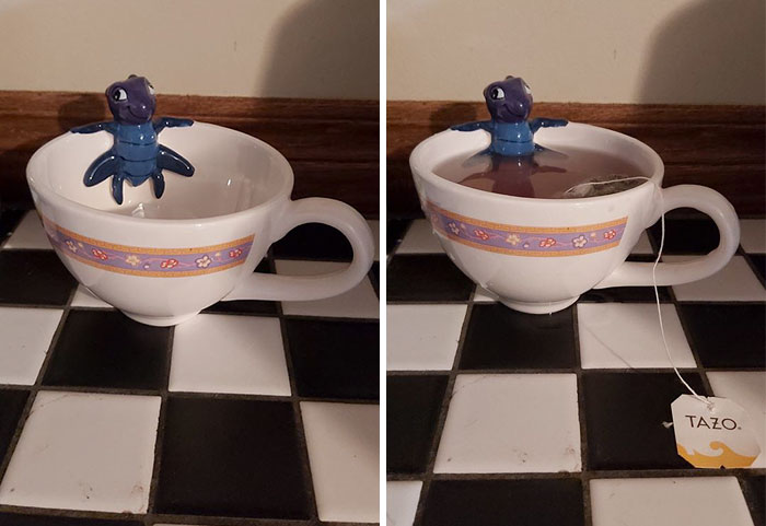 My New Lucky Cricket Tea Cup And If You Don't Like It... Dishonor On You, Dishonor On Your Cow