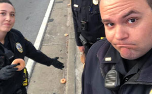 Police Department Cracks Everyone Up By Reporting On Krispy Kreme Delivery Truck Spilling Donuts Everywhere