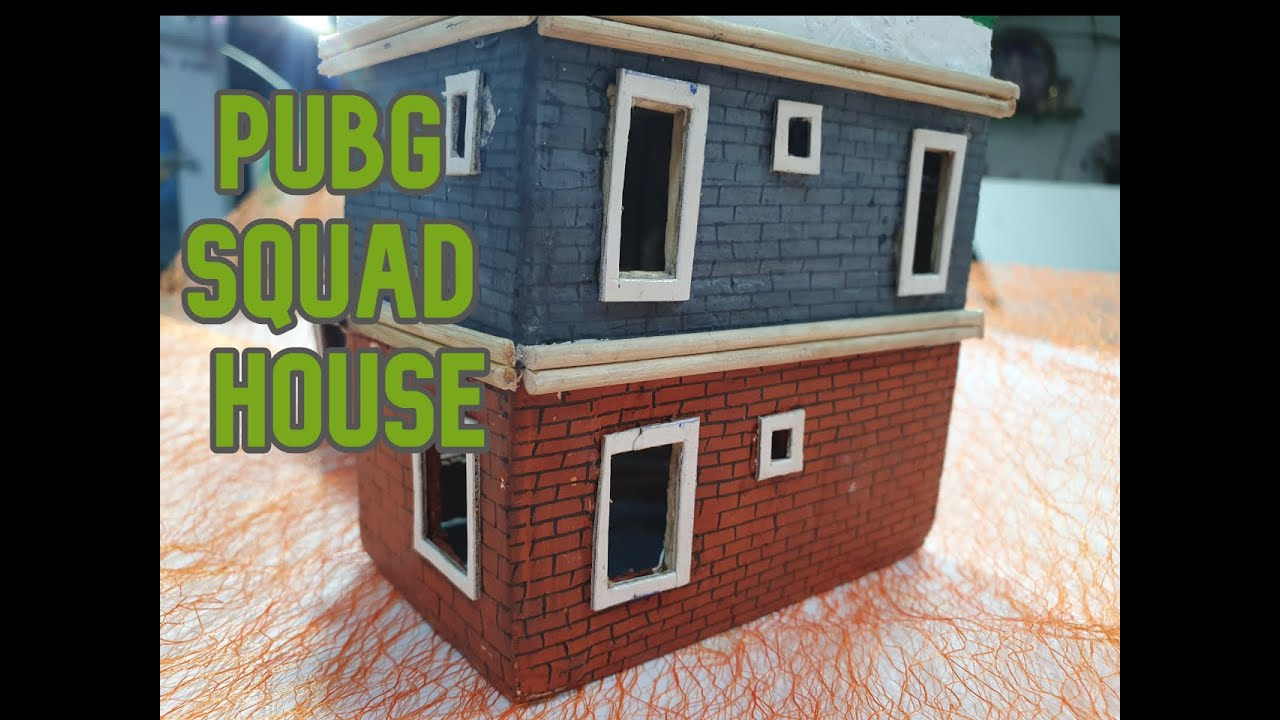 I Made This Cardboard Pubg Game House