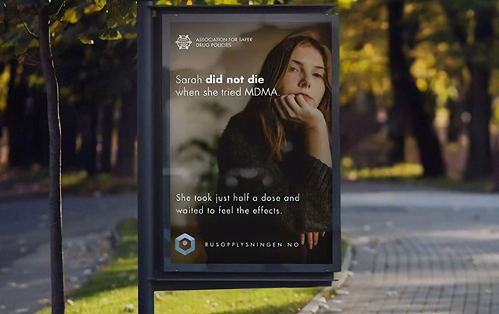 Ad Campaign Teaches People About The Effects Of Drugs So As To Prevent Overdose And Death