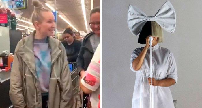 Esta mujer pagó la compra de todo el mundo en Walmart, afirmando haber ganado la lotería, y resultó ser Sia