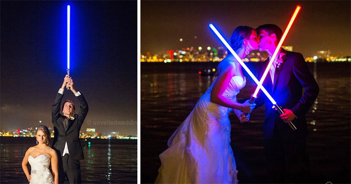 Couple Has A Star Wars Wedding And The Dark Side Was Not Invited (12 Pics)