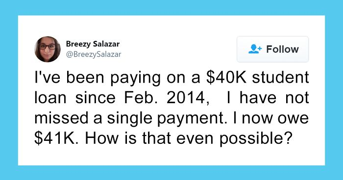 30 Americans Share Their Student Loan Debts And You Can Feel How Hopeless These People Are