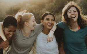 Study Shows That Women Do Better When They Have A Group Of Strong Female Friends