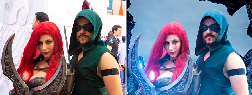 Katarina And Green Arrow