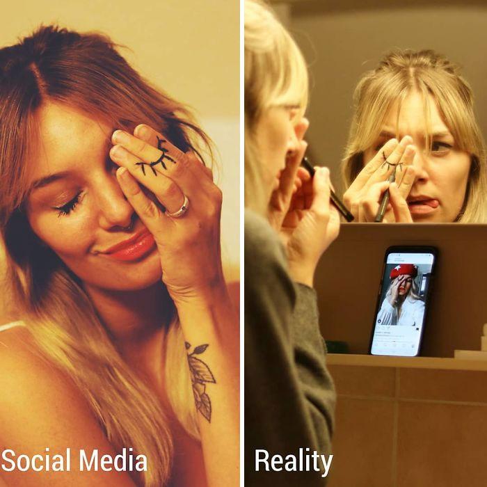 Instagram vs. Reality