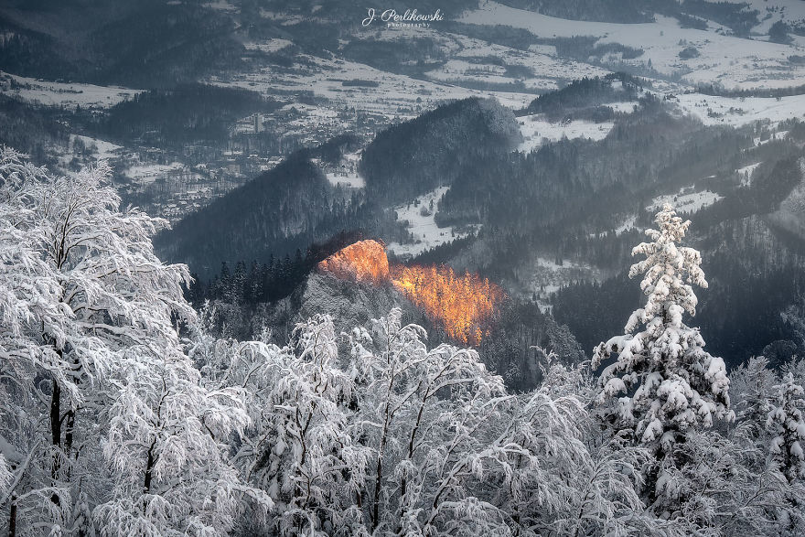 I Visited Three Crowns In Polish Pieniny Mountains In A Magical Winter Scenery