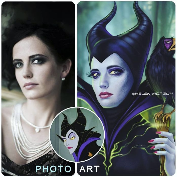 Eva Green As Maleficent