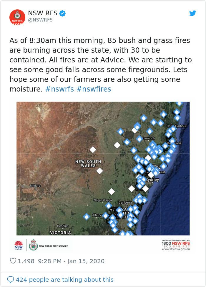 1217559328695078913 png  700 - Finalmente chove forte na Austrália, apagando mais de 30 incêndios mortais