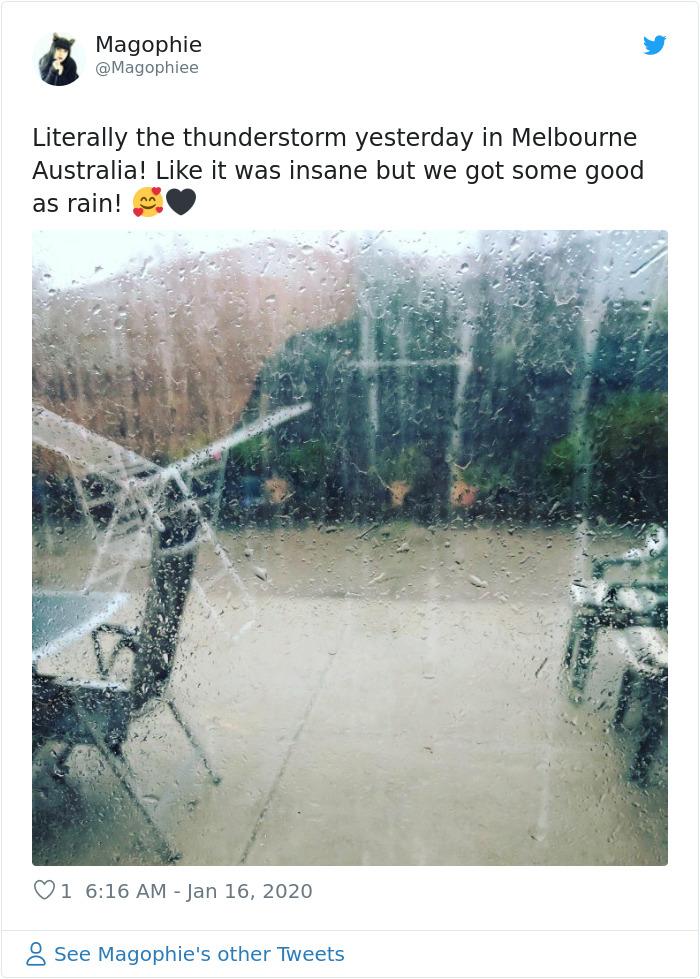 1217692087786729472 png  700 - Finalmente chove forte na Austrália, apagando mais de 30 incêndios mortais