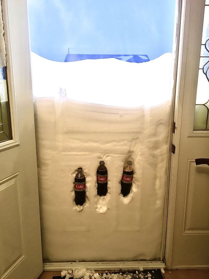 Well, I Found A Place To Keep My Dietcoke Cold! All Is Good!