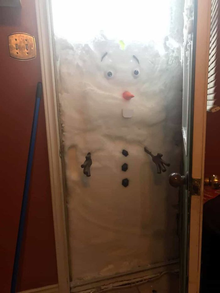 How To Make A Snowman From At Home