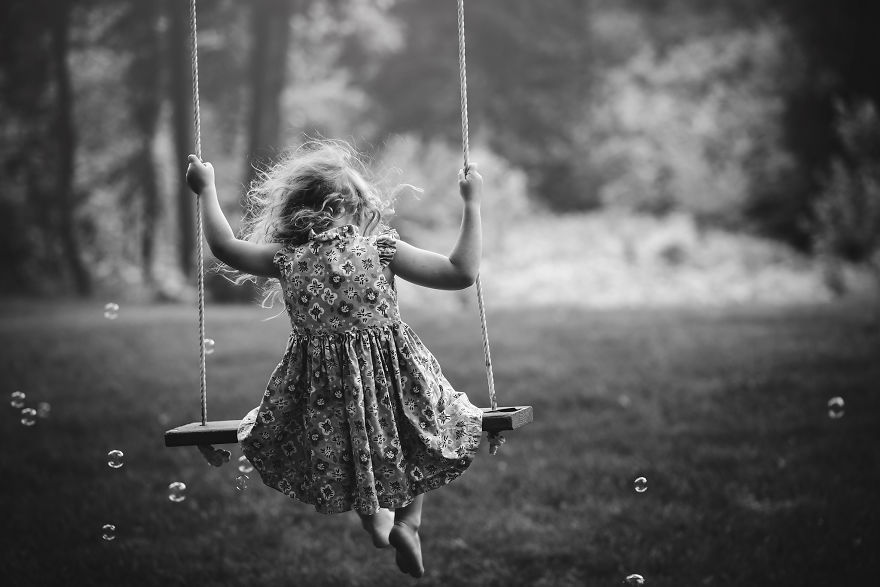 I've Photographed My Daughter On The Same Tree Swing For 3 Years, Here Are Some Of My Favorites