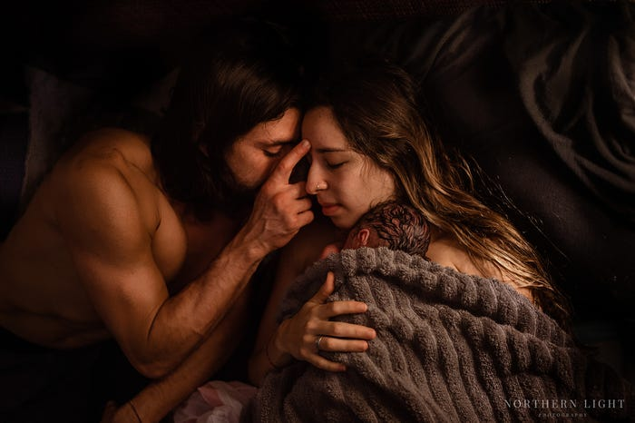 These 16 Award-Winning Photos Capture What It's Really Like To Give Birth