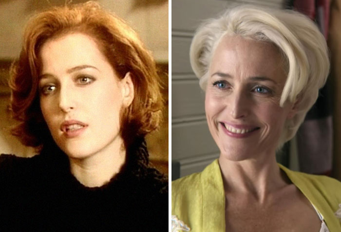 Gillian Anderson: Class Of '96 (1993) - Sex Education (2020)