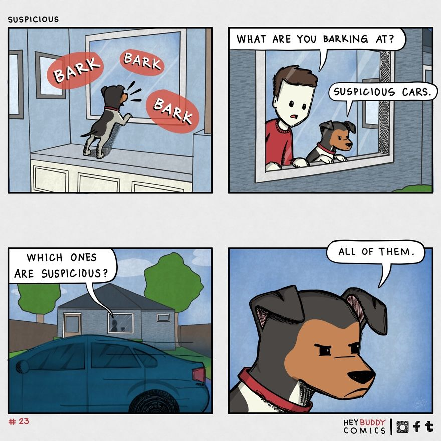 24 Comics About My Relationship With My Dog - The Good, The Bad, And The Oh So Sad