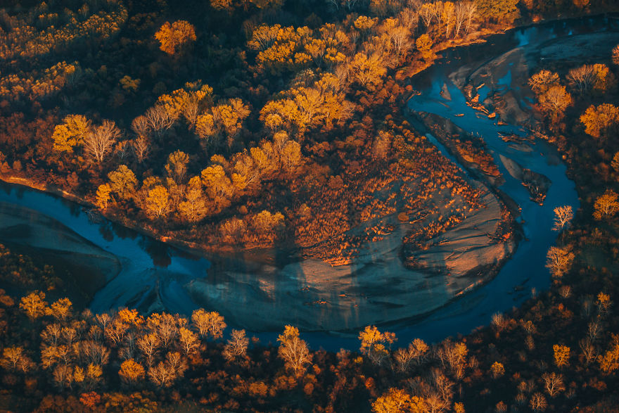 I Captured Amazing Nature Of Georgia From A Helicopter