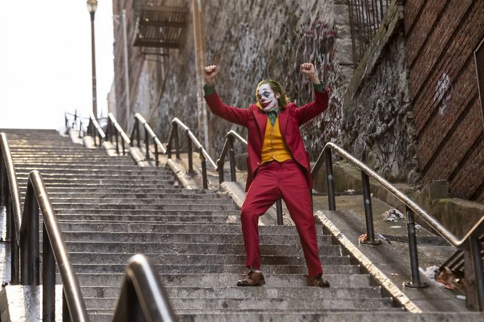 Someone Posted Joaquin Phoenix's Iconic Joker Dance From A Completely Different Perspective