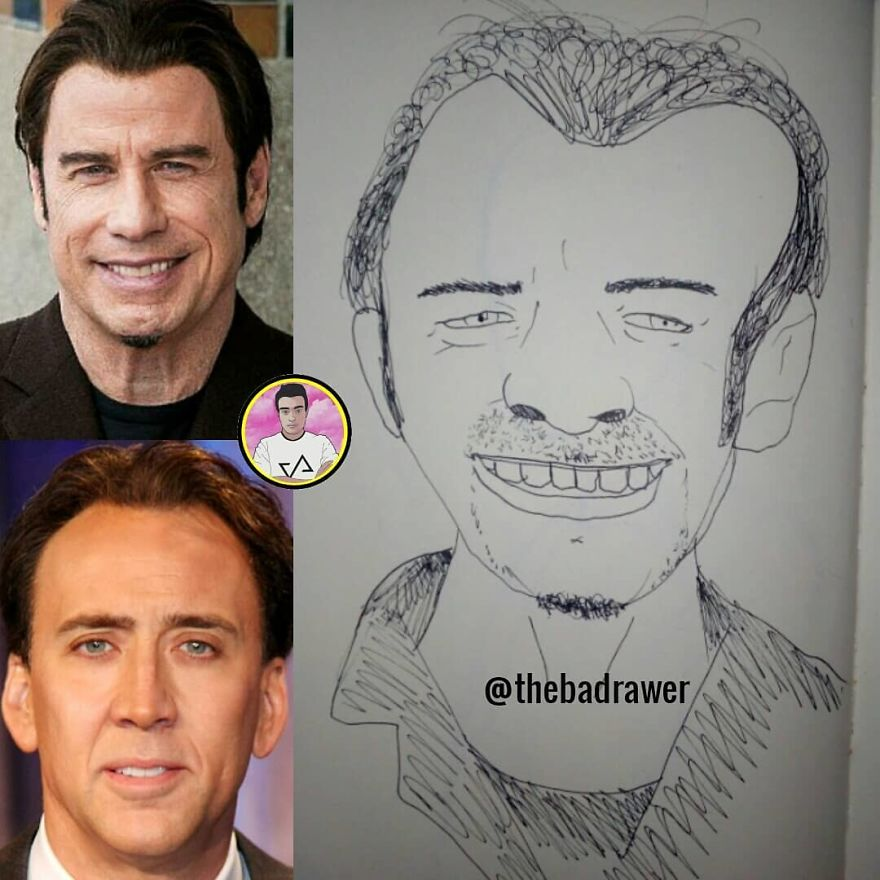 John Travolta/Nicholas Cage: Face/Off