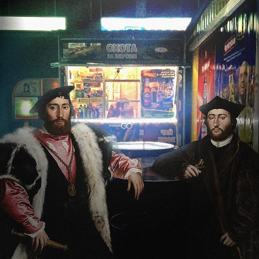 Artist Brings Classic Painting Characters To Today's World (New Pics)