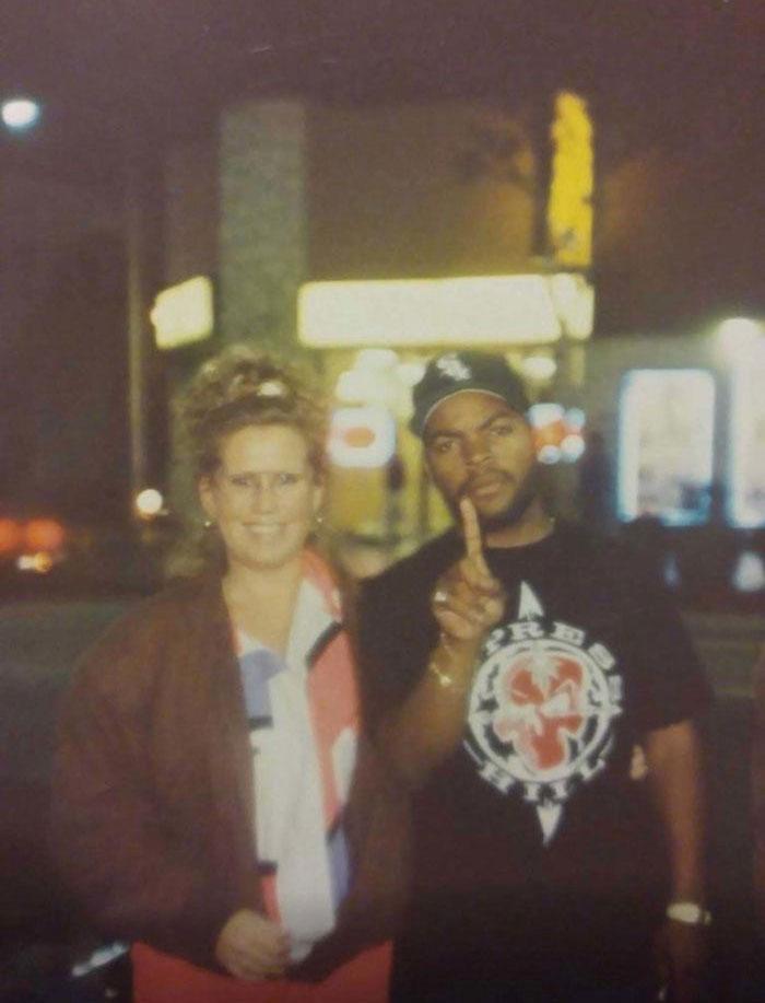 My Mom With Ice Cube Circa 1992