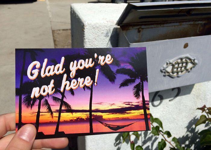 My Ex Sent Me A Postcard