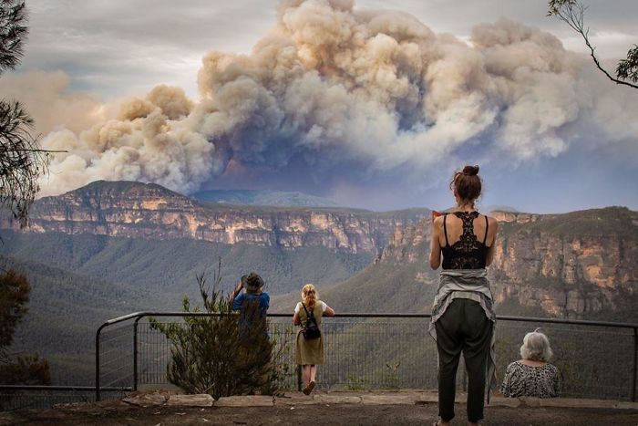 Apocalyptic Image Of Sydney's Bush Fires