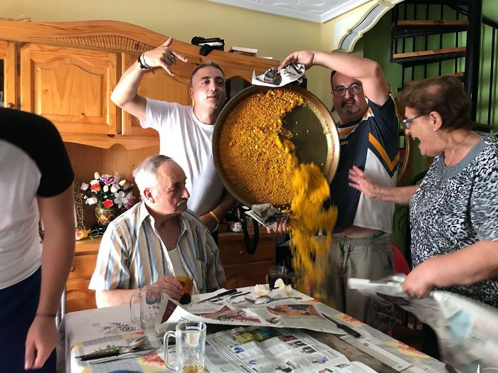 The Fall Of The Paella