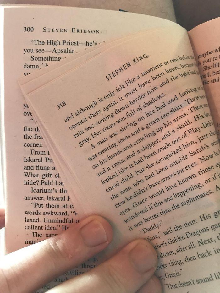 Mi libro tiene impreso dentro un capítulo de otro libro